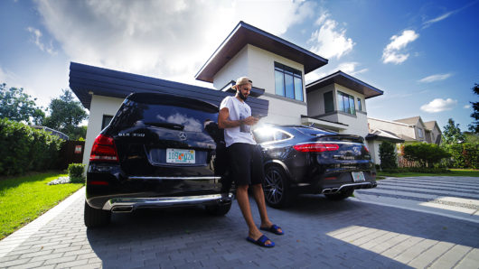 Evan Fournier x Mercedes GLE Coupe
