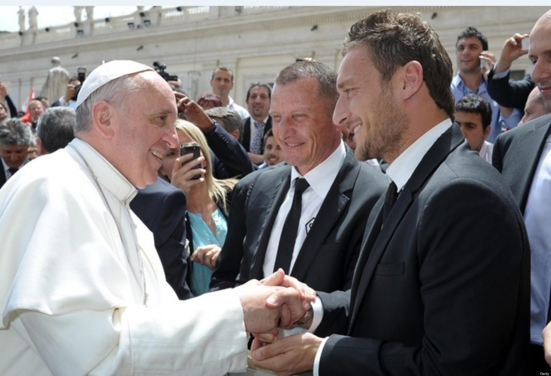 totti-pope-francis