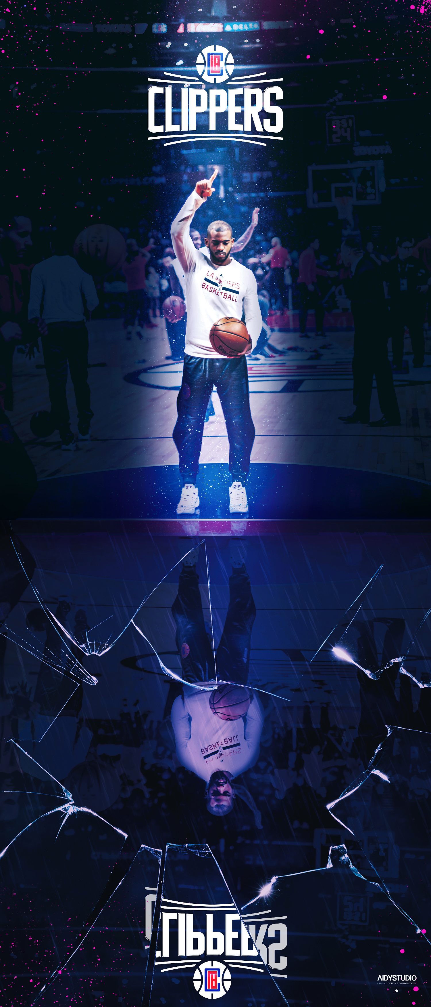 Clippers_Final Shot - Chris Paul by Duse Magazine.