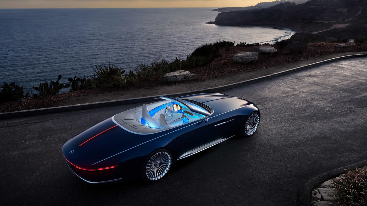 the Vision Mercedes-Maybach 6 Cabriolet is a car which, with its sensual, emotionally appealing design and innovative technical concept solutions, defines the ultimate in luxury of the future.