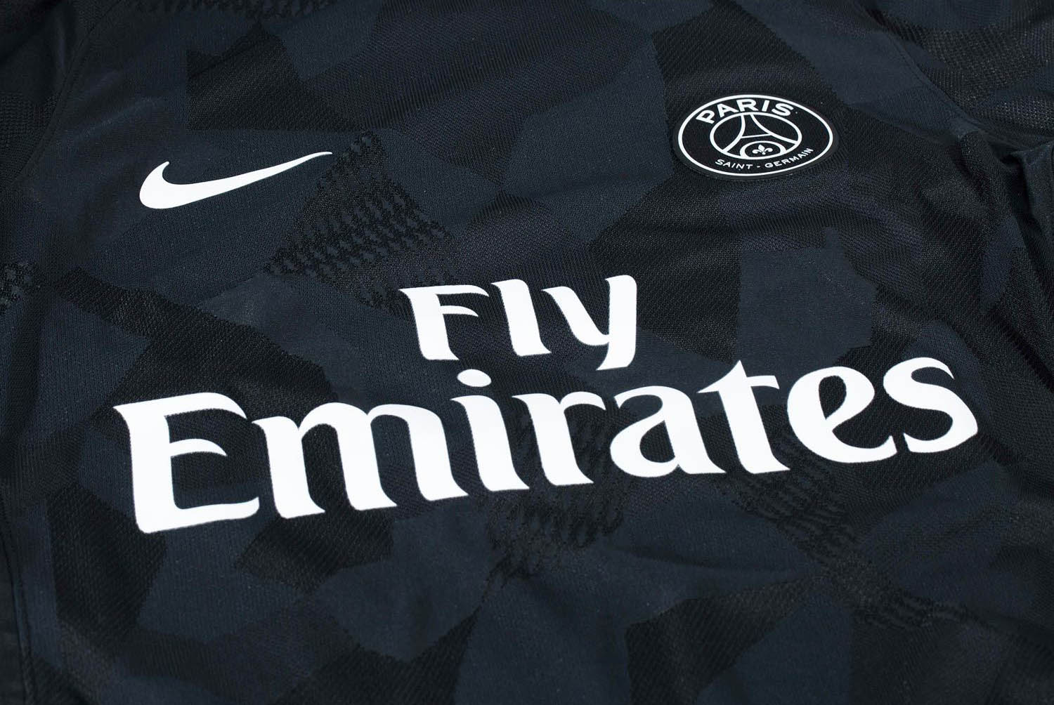PSG: third shirt is almost entirely black features a type of camouflage print inspired by Paris architectural icons all over the shirt and shorts. MIB its coming.