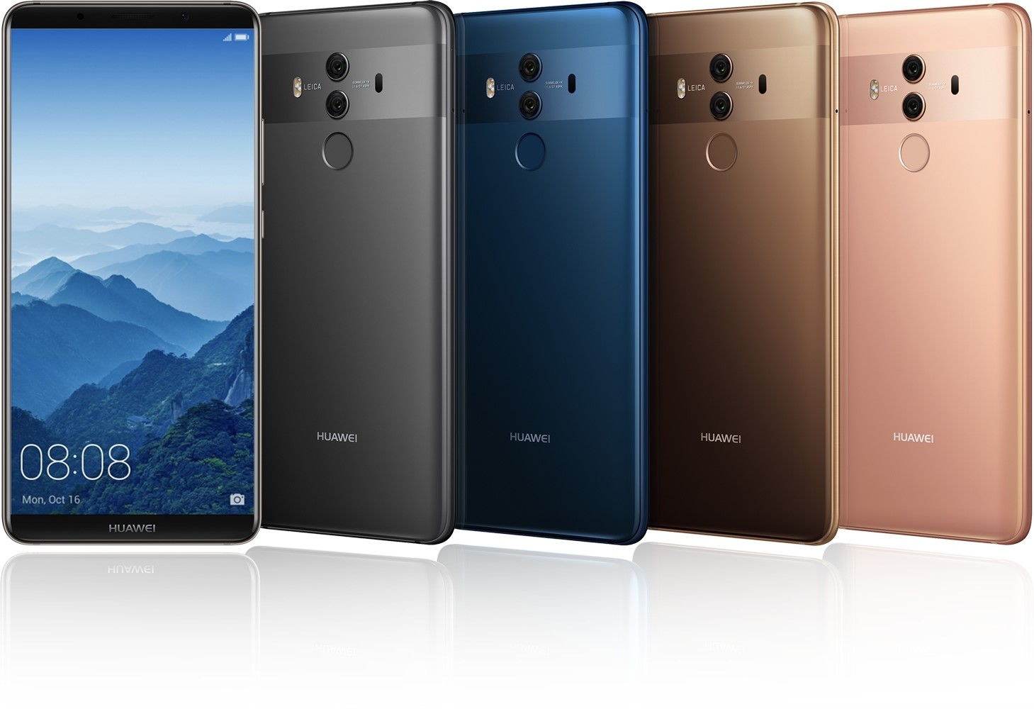 Huawei Mate 10 pro colourways