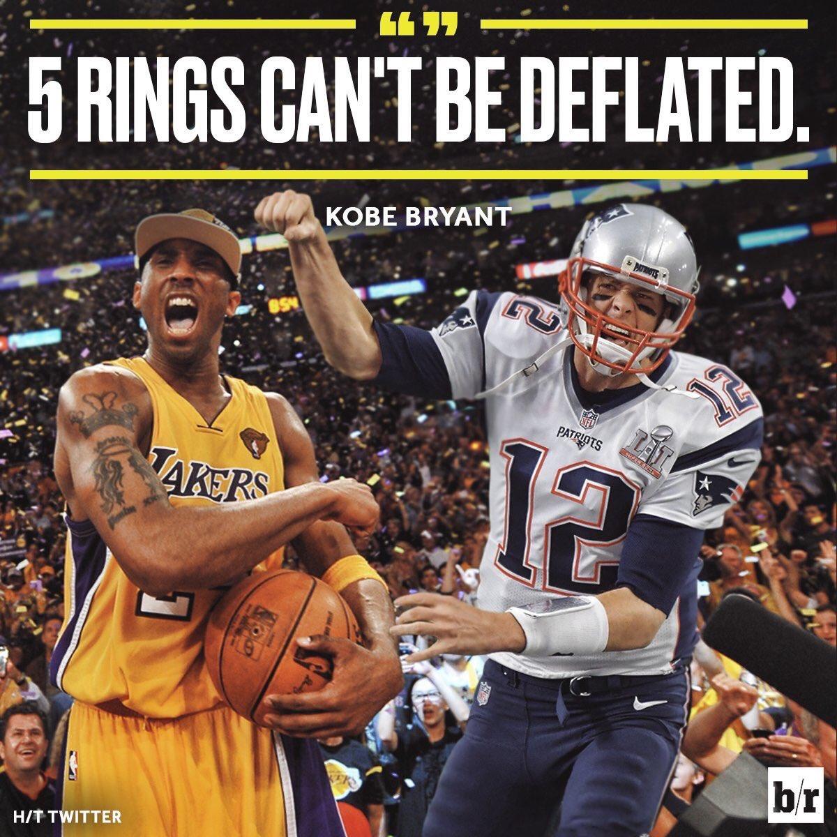 KB24 est down avec Tom Brady.