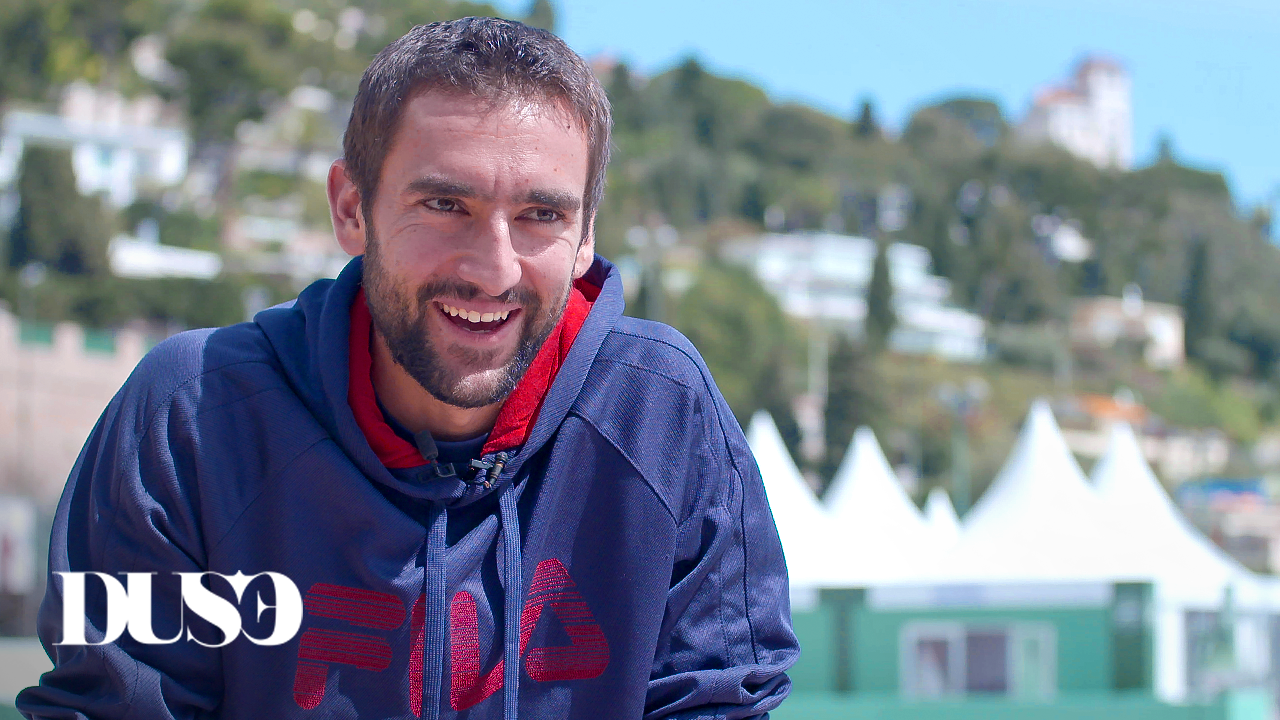 Cilic got all the reasons to smile at the start of the Rolex Monte Carlo Masters.